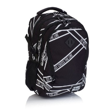 Plecak młodzieżowy 4 komorowy firmy Hash