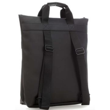 torba plecak rains czarna, praktycznie nieużywana