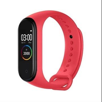 Smartband xiao m4 bluetooth czerwony