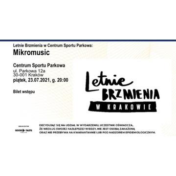 Bilet Letnie Brzmienia Mikromusic