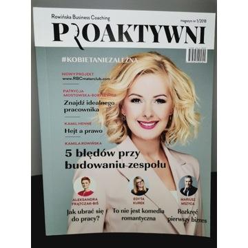 Magazyn PROAKTYWNI Kamila Rowińska