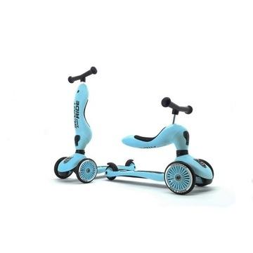 hulajnoga trójkołowa i jeździk 2w1 Scoot&Ride