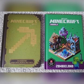 MINECRAFT zestaw dwóch książek