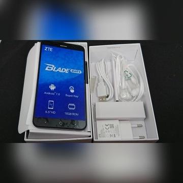 (10) Telefon ZTE A602 Blade USZKODZONY