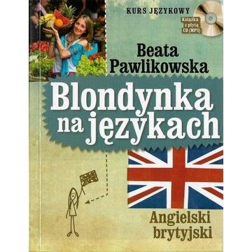 Blondynka na językach Angielski brytyjski
