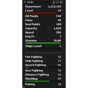 Realera 8.0 Knight 90 Skill 5mlvl
