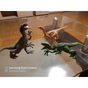 Jurassic World oryginalne figurki