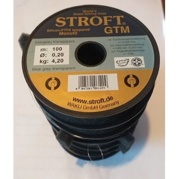 żyłka Stroft GTM  0,20mm  100.....600m