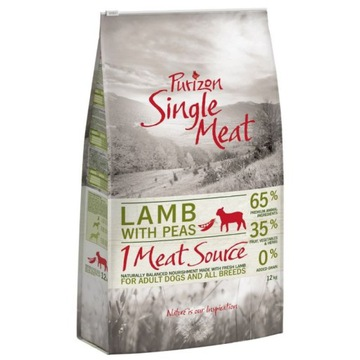 Purizon Single Meat Adult Jagnięcina Bez Zbóż 2 kg