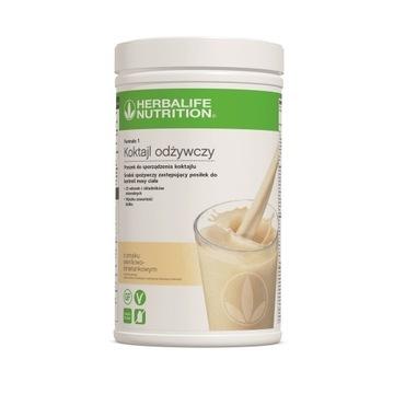 (5%) Herbalife Koktajl  waniliowo-śmietankowy 550g