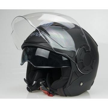 Kask Motocyklowy S23/B/M  Roz. M