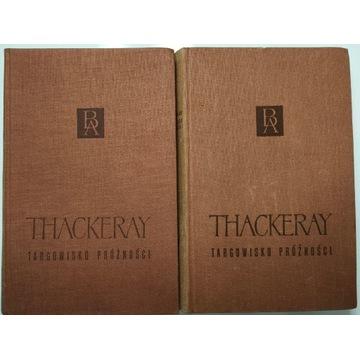 Targowisko próżności 2 TOMY William Thackeray