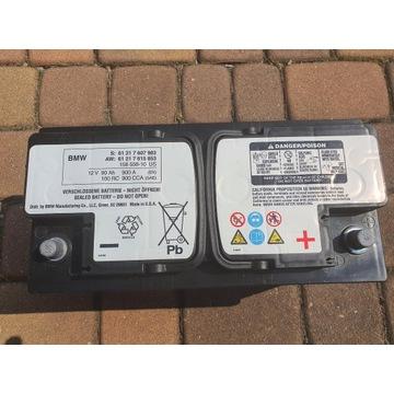 Oryginalny akumulator BMW 90 Ah 900A stan idealny