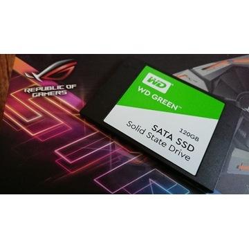 "Dysk WD SSD 120gb sata 2.5"" green Laptop Komputer"