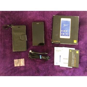 telefon SONY XPERIA Z3 z pudełkiem i akcesoriami