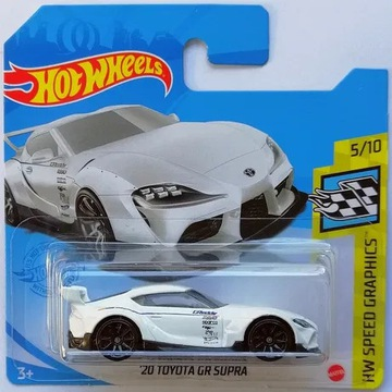 Hot Wheels 20 Toyota GR Supra