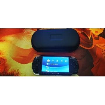 PSP 2004 przerobione + Etui + ładowarka