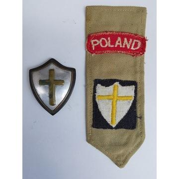 Klapka i odznaka 3 Dywizja Strzelców Karpackich