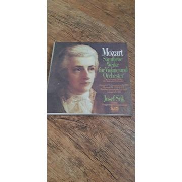 winyl box Mozart