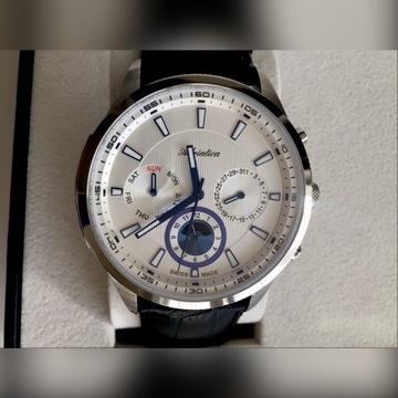 Zegarek męski Adriatica pasek okazja nowy
