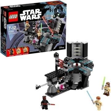 LEGO Star Wars 75169 Pojedynek na Naboo 100% kompl