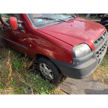 Fiat doblo maska zderzak lampy przod chłodnice