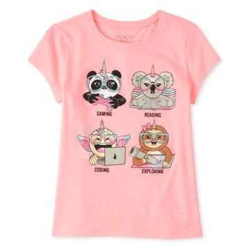 Childrens Place bluzeczka Pandacorn 10-12lat