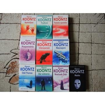 Dean Koontz, pakiet, zestaw, komplet, horror,