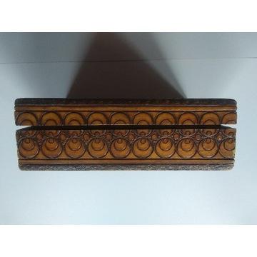 Ozdobne pudełko drewniane