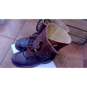 Buty wojskowe opinacze wp ,prl