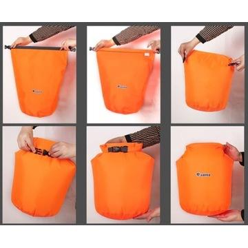 Wodoszczelny worek torba kajak 20L