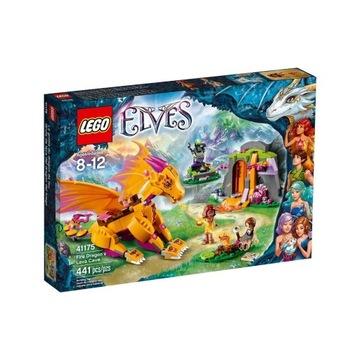 LEGO ELVES 41175 JASKINIA SMOKA OGNIA NOWE