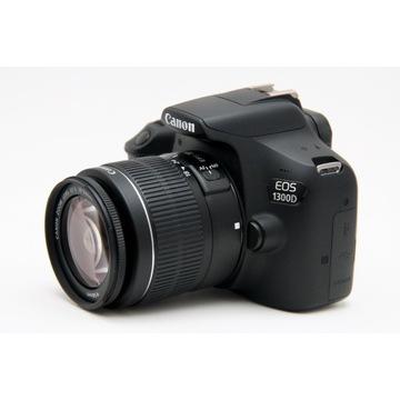 Canon Eos 1300D + EF-S 18-55 przebieg 5934 klatki