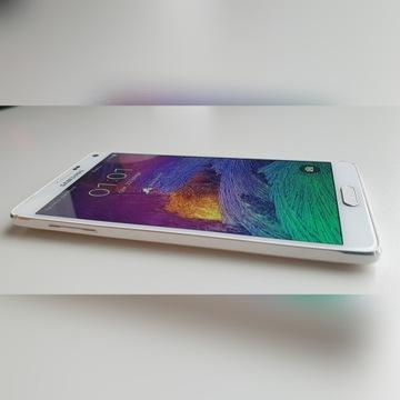 Smartfon Samsung Galaxy Note 4 biały 32 GB