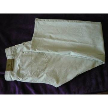 Spodnie Piere Cardin jeans WEAR letnie W38L32-beż
