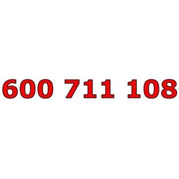 600 711 108 T-MOBILE ŁATWY ZŁOTY NUMER STARTER