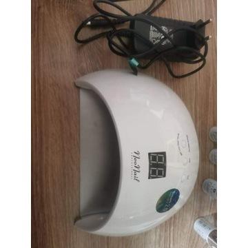 Zestaw do manicure lampa Neonail frezarka