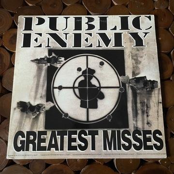 Public Enemy - Greatest Misses 2LP (92r Def Jam)