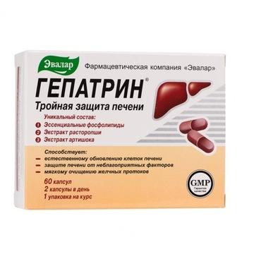 HEPATRIN Evalar, 60 tab. liver protection