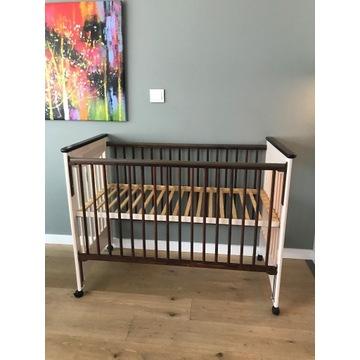 Łóżeczko drewniane Drewex 120x60 cm