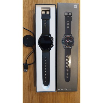 Mi Watch Xiaomi czarny smartwatch