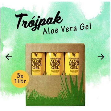 ALOES do Picia - Forever Aloe Vera Gel - 3 litry