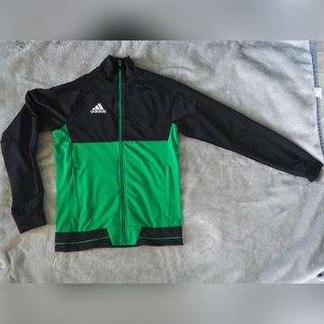 Adidas Bluza treningowa Tiro 17 Zielono-czarna S