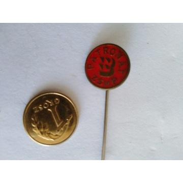 Odznaka Patronat ZSMS