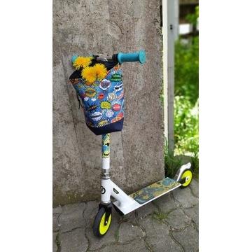 Sakwa worek na hulajnogę, torba do hulajnogi rower