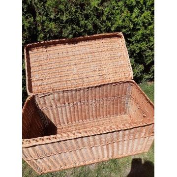 wiklinowy 120 cm kufer z wiekiem