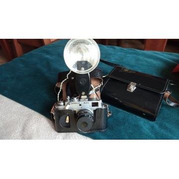 Zorki 4K plus lampa błyskowa