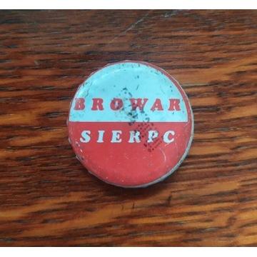 Browar Sierpc stary kapsel piwny datownik