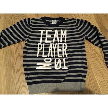 Sweter cool club chłopiec 128
