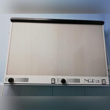 Negatoskop 2 klatkowy NGP 21 z regulacją